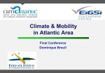 Climate & Mobility in Atlantic Area