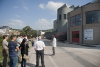 "Engine Room: Technical Explanations about pilot project at the Sports' Pavillion ""Paco Paz"""